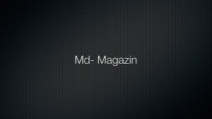 Md – Magazin